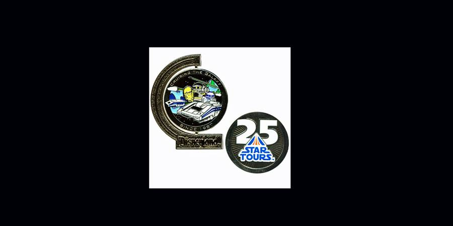 Star Tours 25th anniversary pin