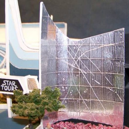 Star Tours in miniature