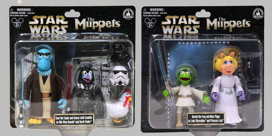Star Wars Characters Toys : Muppets as star wars characters action figures endorexpress