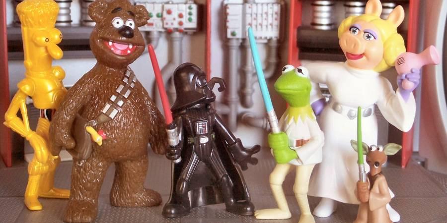Star Wars/ Muppets Figure Set