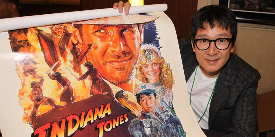 Jonathan Ke Quan at The Hollywood Show
