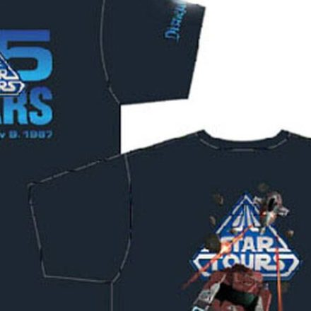 Star Tours 25th Anniversary Commemorative Tee