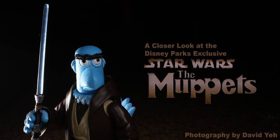 Muppets Star Wars action figure photo review
