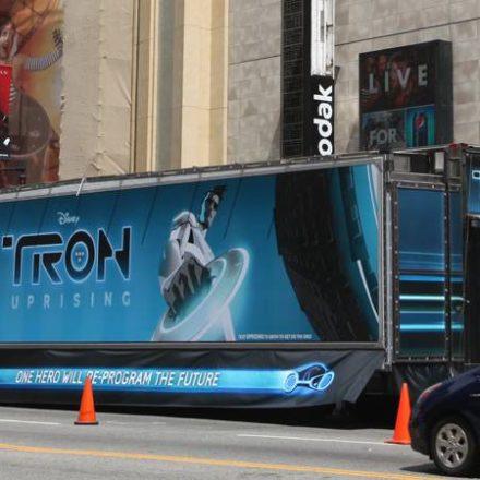 TRON: UPRISING Theater on Wheels