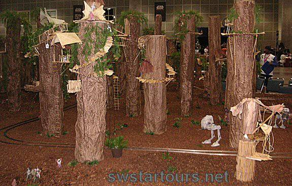 Civ Ewok Landscaping Diorama Endorexpress