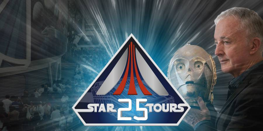 Anthony Daniels on Star Tours' 25th
