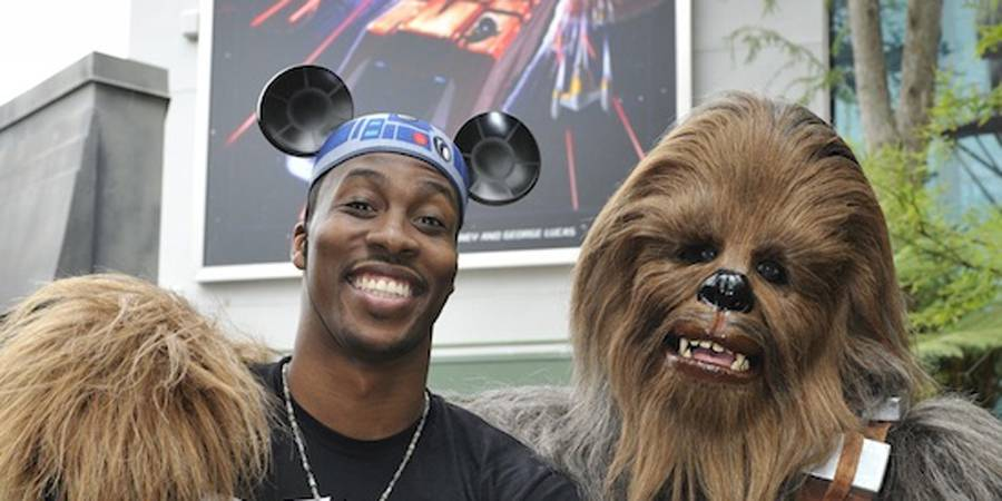 Dwight Howard visits Disney's Hollywood Studios