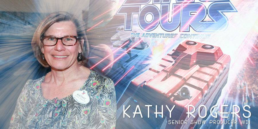 Kathy Rogers talks Star Tours