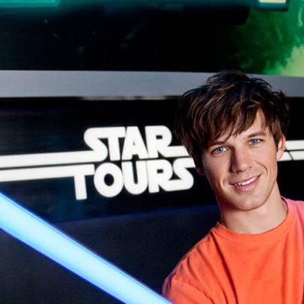 Matt Lanter travels to Endor and beyond.