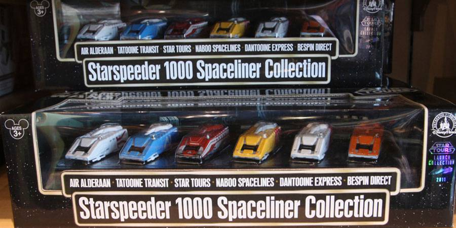Starspeeder Collection at DCA