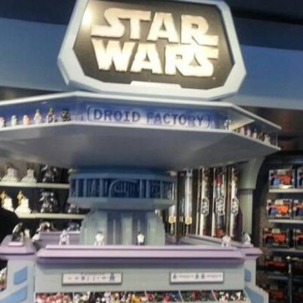 Droid Factory / Build-A-Droid now at Disneyland