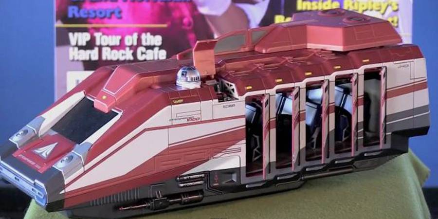 Orlando Attractions Magazine Show Previews Starspeeder 1000 toy