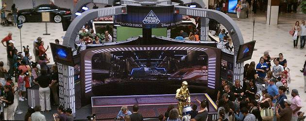 Star Tours 2 Mall Tour