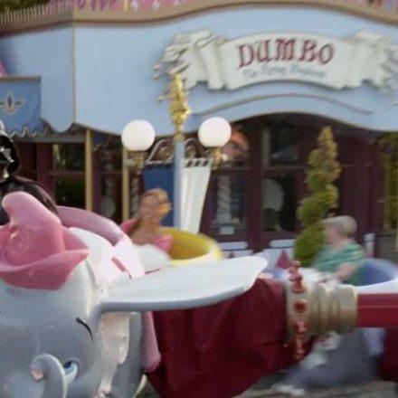 Darth Vader Goes To Disneyland